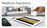A range of Platform solutions including Tablets